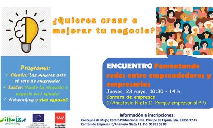 El próximo jueves, encuentro entre mujeres emprendedoras y empresarias en la Cantera de Empresas