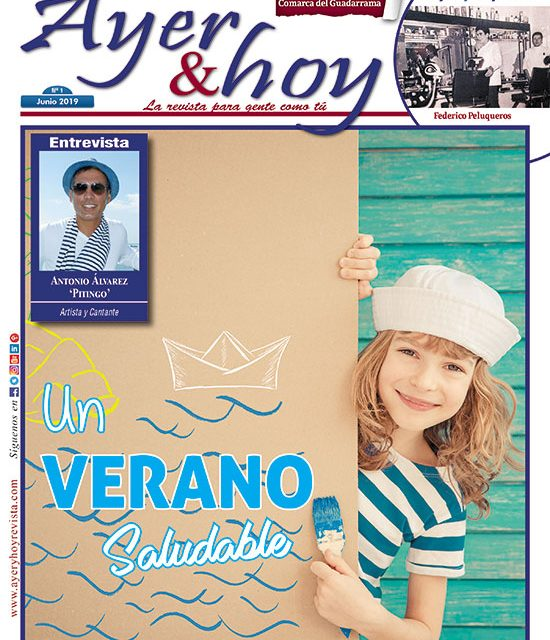 Ayer & hoy – Comarca del Guadarrama  – Revista Junio 2019