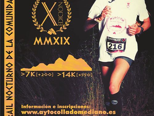 X Edición de Miaccum Night Trail