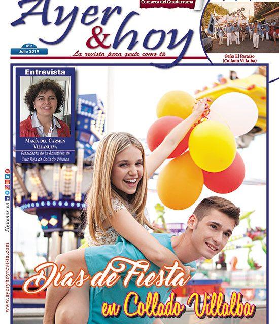 Ayer & hoy – Comarca del Guadarrama – Revista Julio 2019