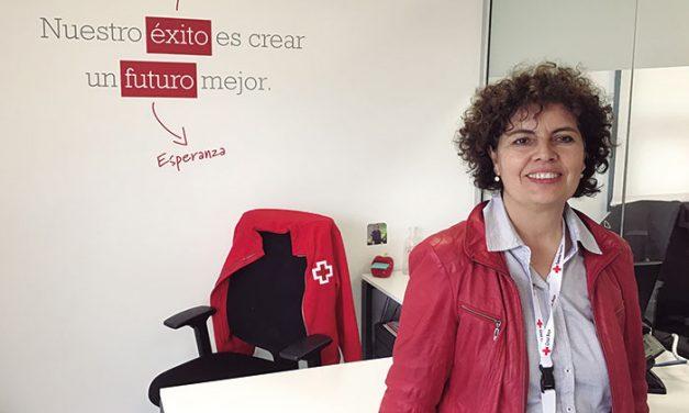 María del Carmen Villanueva, Presidenta de la Asamblea de Cruz Roja de Collado Villalba