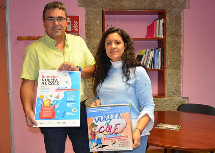 """El Ayuntamiento de Guadarrama y la ACEG ponen en marcha la campaña """"La mejor vuelta al cole"""" con los comercios de Guadarrama"""