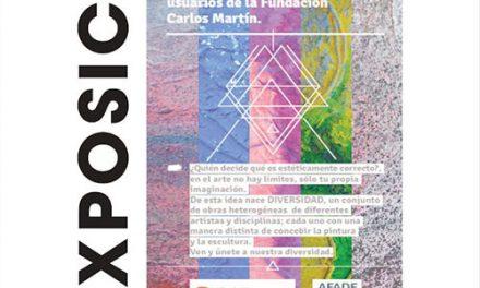 """La Casa de Cultura acoge la exposición de pintura 'Diversidad"""", con obras realizadas por personas con discapacidad intelectual"""