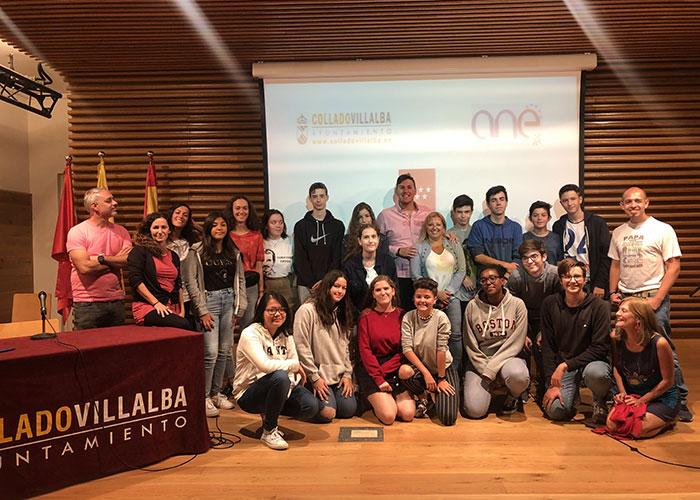 Encuentro de Intercambio Juvenil Erasmus+ en Collado Villalba