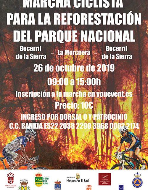 I Marcha Ciclista para la reforestación del Parque Nacional