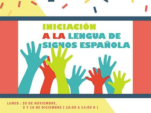 El Ayuntamiento de Collado Villalba organiza una nueva edición del 'Taller de Iniciación a la lengua de signos'