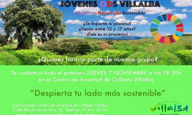 El Ayuntamiento de Collado Villalba pone en marcha un proyecto con jóvenes para promover el desarrollo sostenible