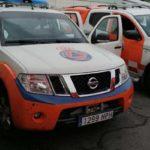 Protección Civil Comienza el reparto de mascarillas entre la población de Guadarrama