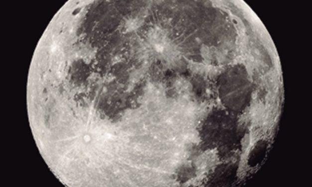 La Luna, ese brillante satélite