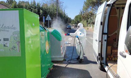 El Ayuntamiento de Alpedrete intensifica las labores de limpieza y desinfección