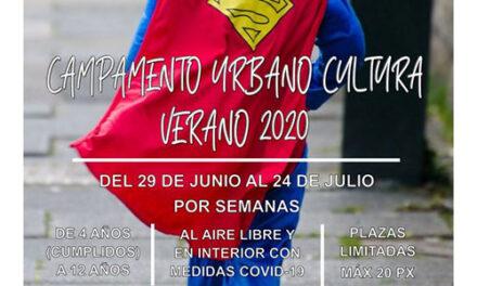 Campamento urbano de Cultura para el Verano 2020 en Alpedrete