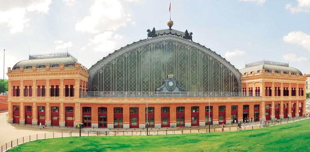 Marquesina histórica de la Estación de Atocha