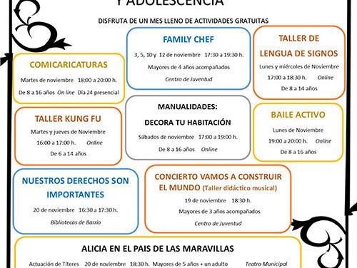 Collado Villalba celebra la X Semana de los Derechos de la Infancia con un completo programa de talleres y actividades