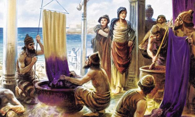 """De donde proviene el nombre de """"fenicios"""""""