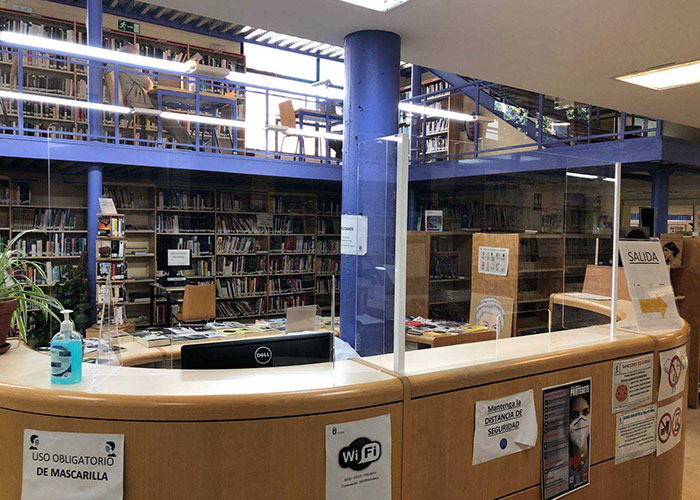 Funcionamiento de la Biblioteca Municipal de Alpedrete durante la crisis sanitaria