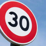 El Ayuntamiento comienza las actuaciones de implantación de la Zona 30 en Moralzarzal