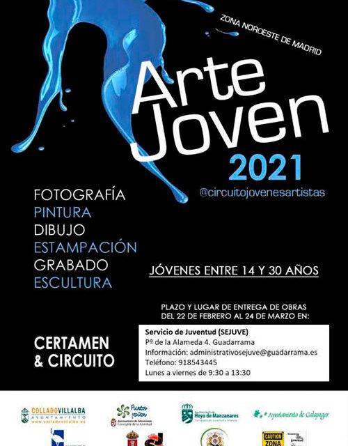 Abierto el plazo para participar en el Circuito de Arte Joven 2021 en el Servicio de Juventud
