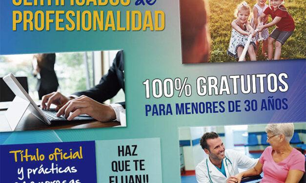 Abierta la preinscripción para nuevos 'Certificados de Profesionalidad'