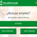 El Ayuntamiento de Collado Villalba, a través de su Agencia de Colocación, pone en marcha una nueva App