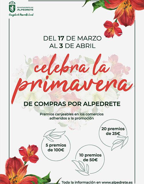 Esta primavera, compra en Alpedrete